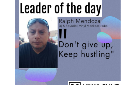 Ralph Mendoza Leader of the day